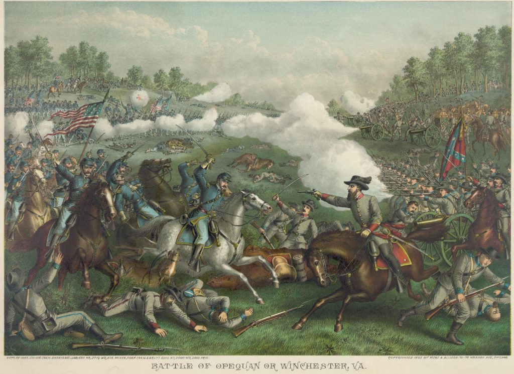 COL. 16 resolute courage... second battle of winchester